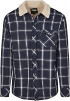 Checkered shirtjacket lined 5