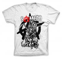 Samcro Reaper Splash white t-shirt