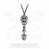 Satans Key To Hell Halsband