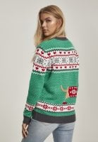 Sausage Dog christmas sweater lady 3