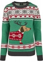 Sausage Dog christmas sweater lady 5
