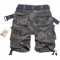 Savage vintage shorts darkcamo back