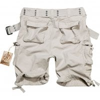 Savage vintage shorts white back