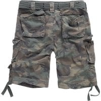 Savage vintage shorts woodland kamouflage back