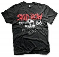 Skid Row T-shirt New Jersey 86 front