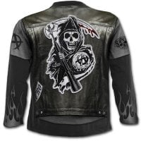 Sons Of Anarchy Jax Wrap longsleeve back
