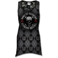 Sons Of Anarchy dress with lace upholstery