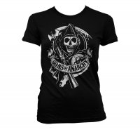 Sons Of Anarchy Reaper tjej t-shirt