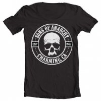 Sons Of Anarchy Seal Wide Neck Tee