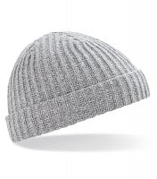 Trawler beanie heather grey