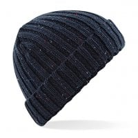 Navy Knitted short beanie