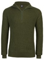 Knitted marine pullover mens
