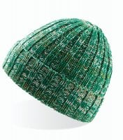 Green Knitted beanie
