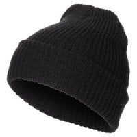 Knitted hat with coarse knitting 1