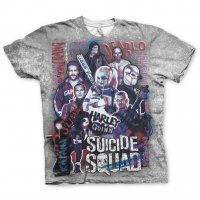 Suicide Squad allover t-shirt