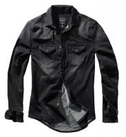 Black denimshirt men