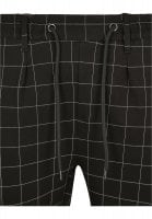 Black and white checkered trousers mens waist