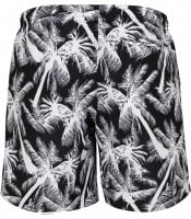 Black shorts with white palms men 3