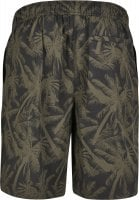 Black shorts with palms mens 2