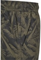 Black shorts with palms mens 3