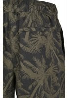 Black shorts with palms mens 4