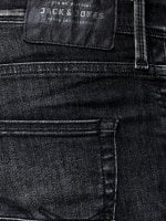 Black washed jeans men 4