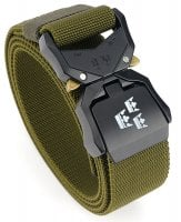 Tactical stretch belt Three crowns olive green
