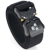 Tactical stretch belt Three Crowns black