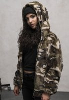 Teddy camo jacket lady