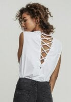 Top with lace back