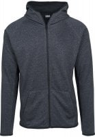 Active Melange Zip Hoody model