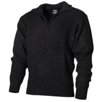 Troyer knit sweater 1
