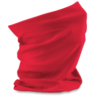 tube scarf red