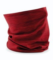 Tube scarf morf spacer marl red