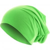 Thin Beanie Neon Neongreen front
