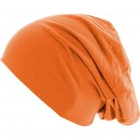 Thin Beanie Neonorange side