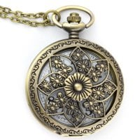 Pocket watch flower