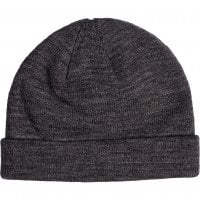 Folded beanie heather charcoal 1