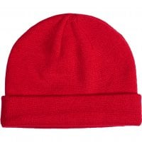 Folded beanie red 1