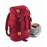 Urban Explorer Backpack burgundy front