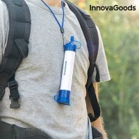 Portable water purifier neck