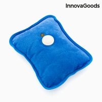 Electric hot water bottle blue
