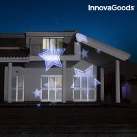 LED projector for outdoor use stars