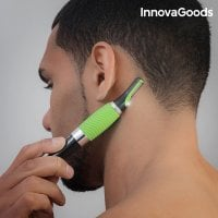 InnovaGoods Electric Micro Precision Hair Trimmer with LED