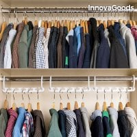 InnovaGoods Hanger Organiser for 40 Items  (24 Pieces)