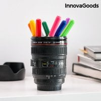 Camera lens mug with multifunction 3