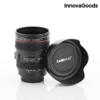 Camera lens mug with multifunction 5