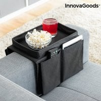 Remote Control Organiser with Tray for the Sofa