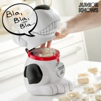 Musical Dog Cookie Jar 1