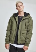 Warm cotton jacket with hood 1